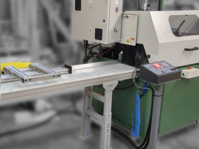 Reduce Material Waste with Programmable Length Stops