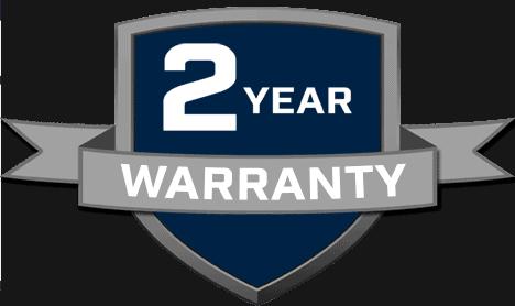 2-year warrranty